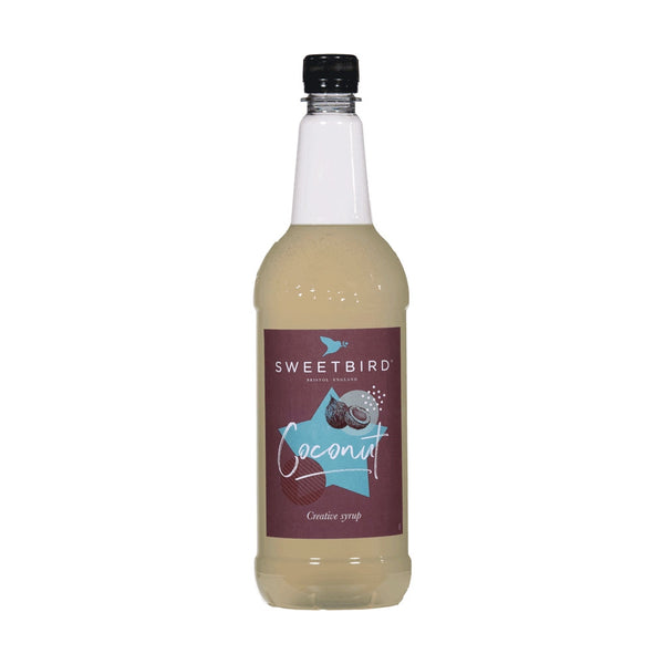 Sweetbird Coconut Coffee Syrup 1litre (Plastic)