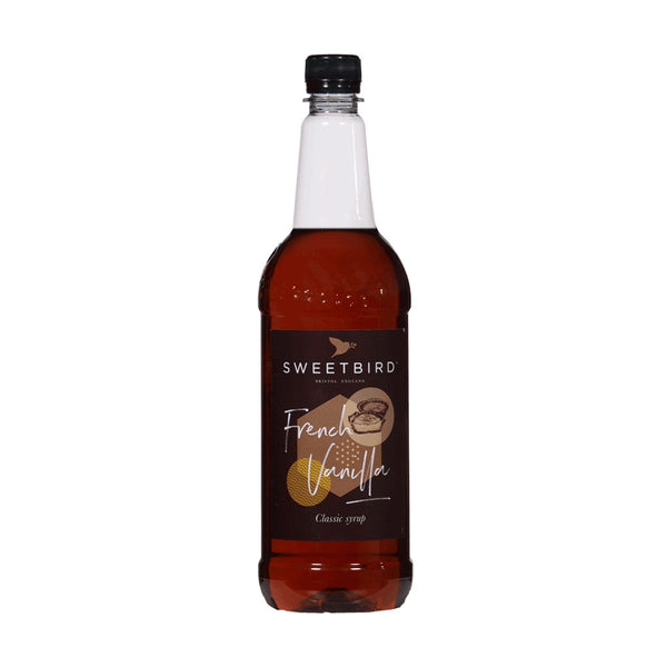 Sweetbird French Vanilla Coffee Syrup 1litre (Plastic)