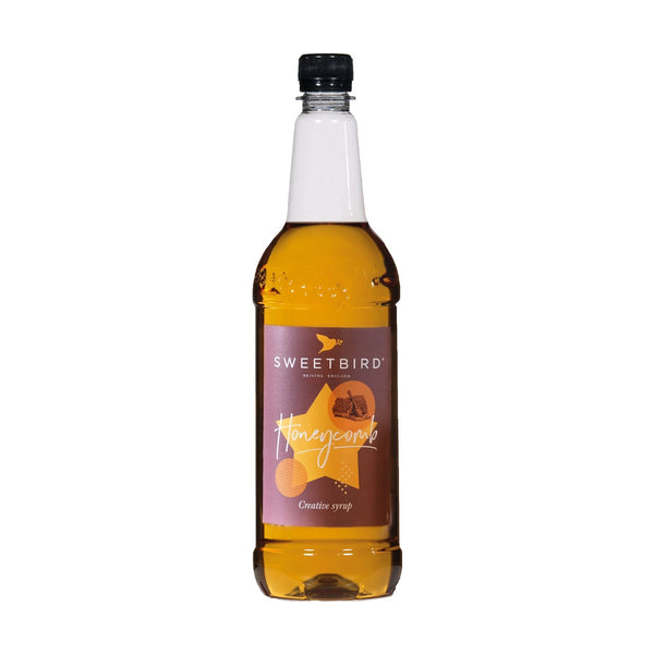Sweetbird Honeycomb Coffee Syrup 1litre (Plastic)