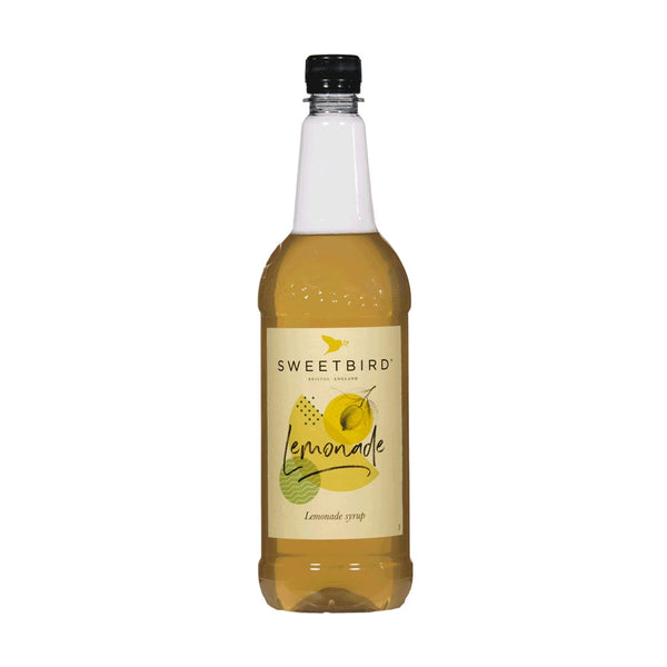 Sweetbird Traditional Lemonade Coffee Syrup 1litre (Plastic)