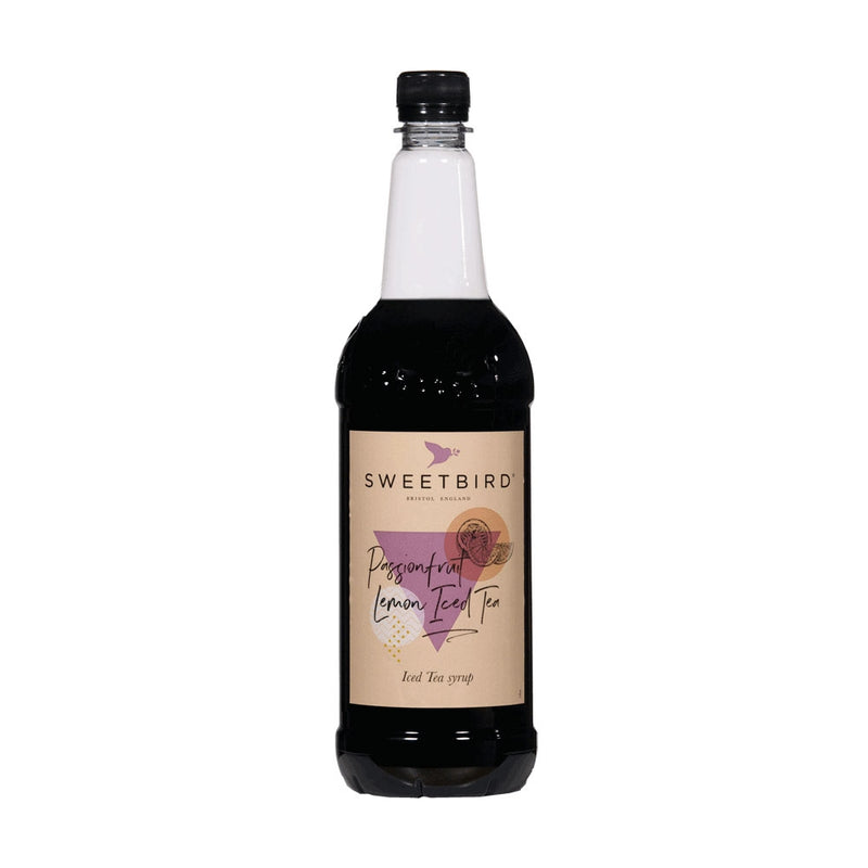 Sweetbird Passionfruit Lemon Iced Tea Syrup 1litre (Plastic)