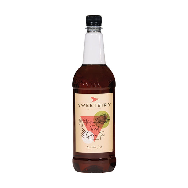 Sweetbird Watermelon Iced Green Tea Syrup 1litre (Plastic)