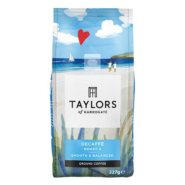 Taylors Decaffeinated Roast & Ground Coffee 6 x 227g