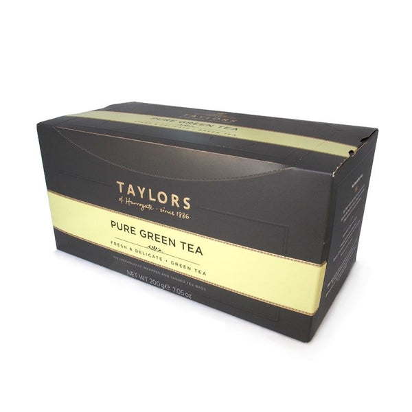 Taylors of Harrogate Delicate Pure Green Tea Enveloped Tea Pack 100's