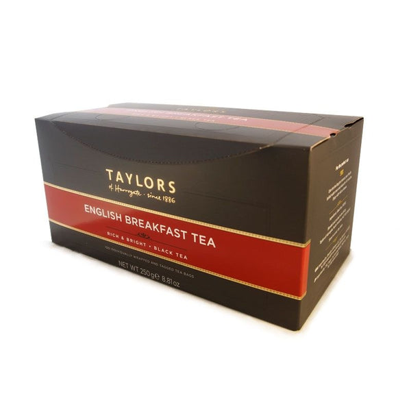 Taylors of Harrogate English Breakfast Enveloped Tea Pack 100's
