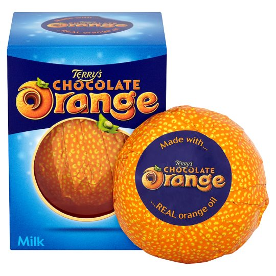 Terry's Milk chocolate flavoured with real orange 157g
