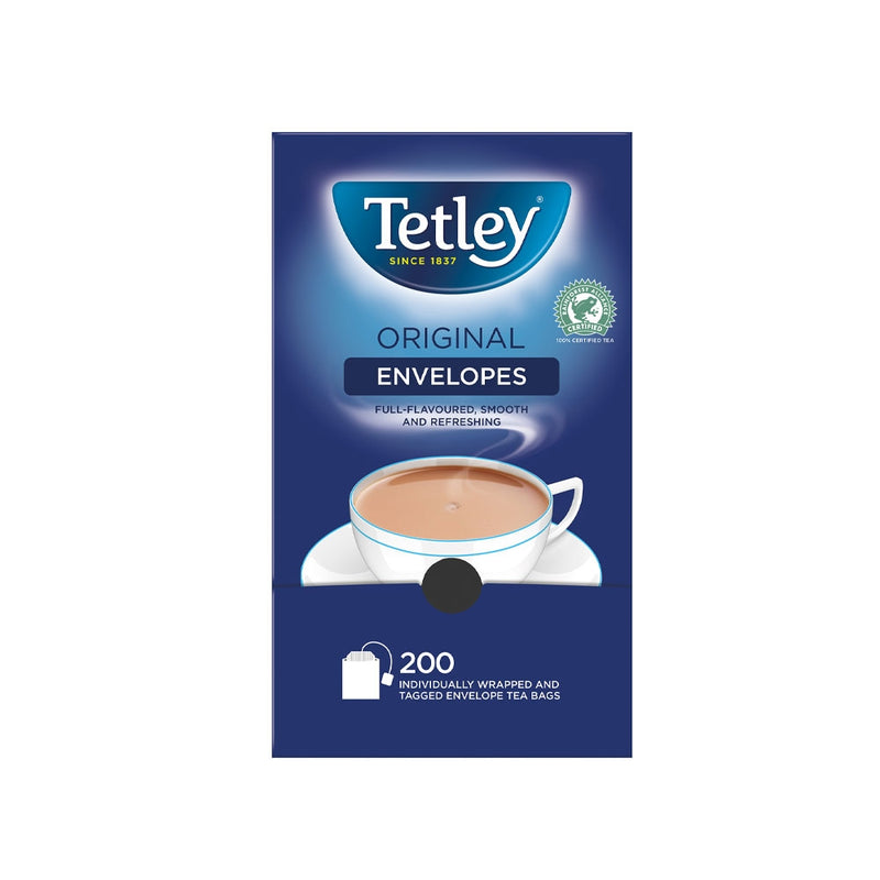 Tetley Tea 200's Enveloped