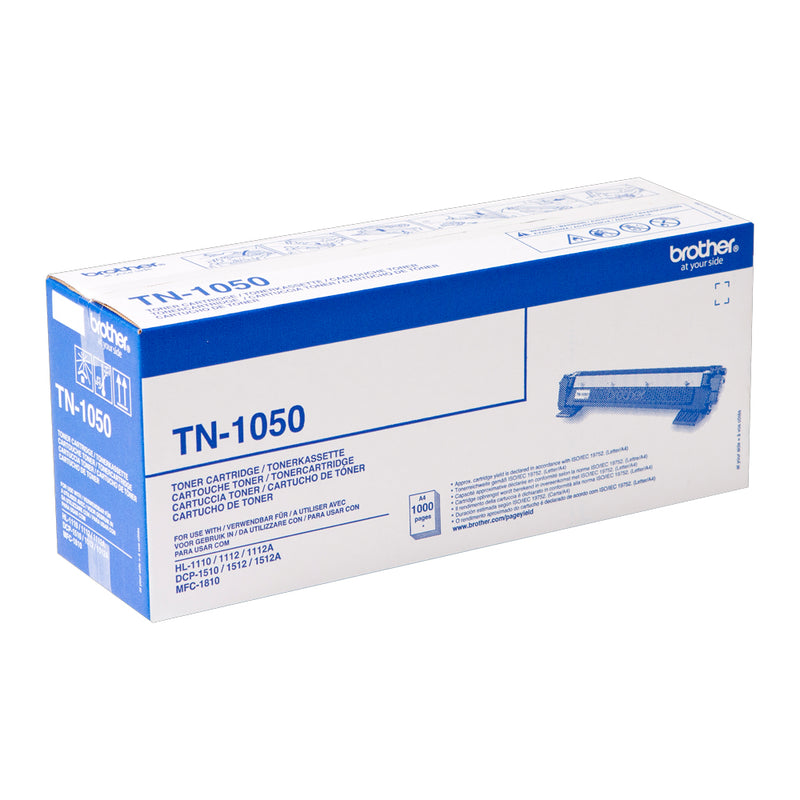 Brother Laser Toner Cartridge Black TN-1050