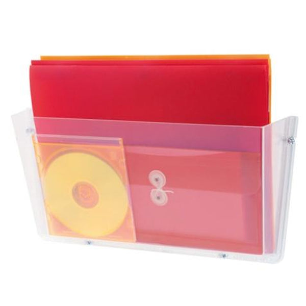 Deflecto A3 Landscape Single Pocket Literature File
