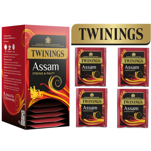 Twinings Assam Enveloped Tea 20's