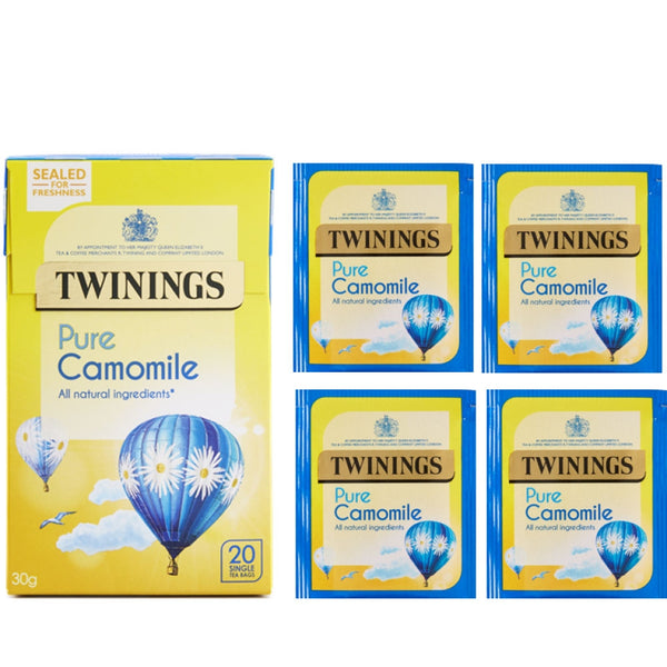 Twinings Pure Camomile {Individually Wrapped } Tea 20's