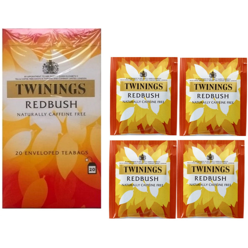 Twinings Redbush {Individually Wrapped}  Enveloped Tea 20's