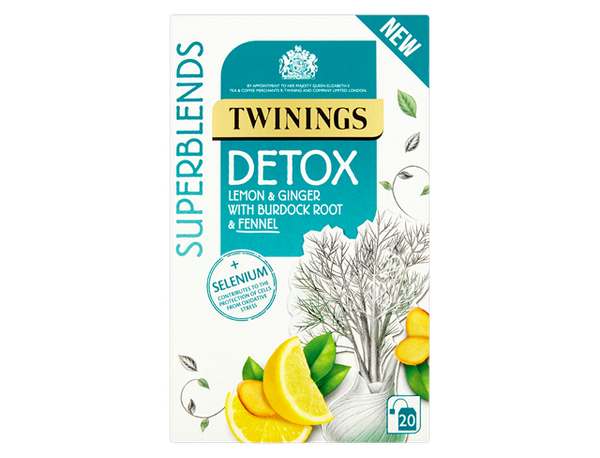 Twinings Super Blends Detox Envelopes 20's