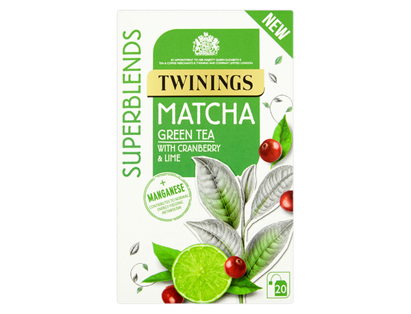 Twinings Super Blends Matcha Envelopes 20's