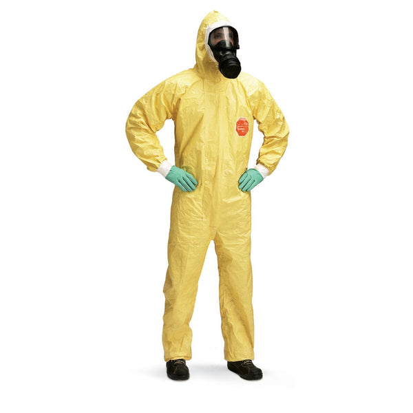 Dupont Tychem 2000C Yellow Hooden Coverall