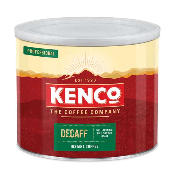 Kenco Decaffeinated Freeze Dried Instant Coffee 500g 88633