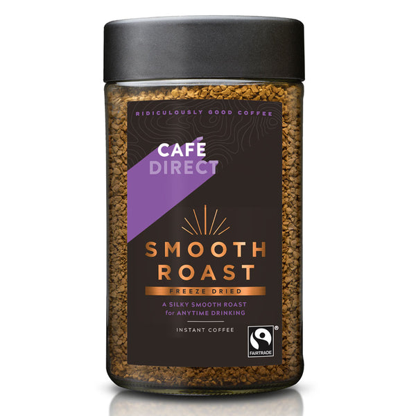 Cafe Direct Smooth Roast Fairtrade Coffee 100g