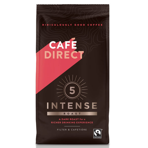Cafe Direct Intense Roast Ground Coffee 227g