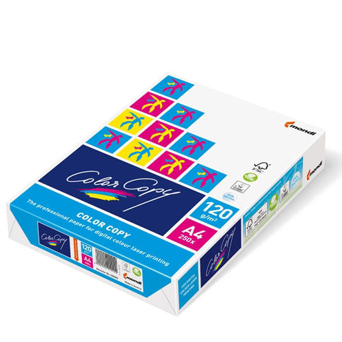 Color Copy A4 Paper - White - 120gsm - Pack of 250