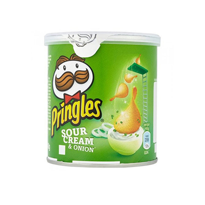 Pringles Sour Cream & Onion Crisps 40g x 12 per case