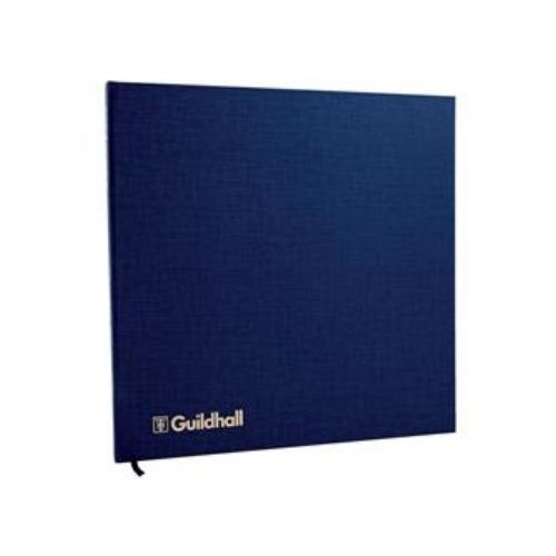 Guildhall Account Book 80 Pages With Petty Cash Columns 298x305mm