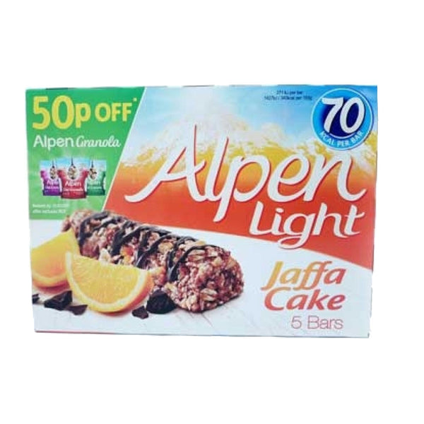 Alpen Light Jaffa Cake 5 Pack 95G (Full Pack 10's)