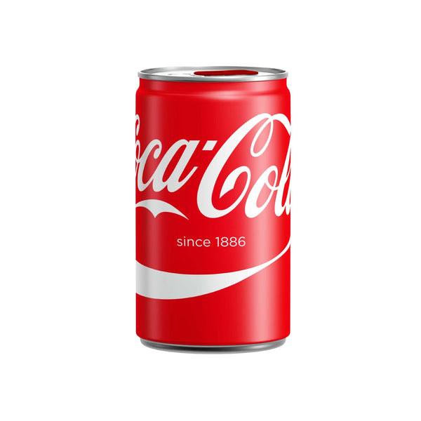 Coca-Cola Soft Drink 150ml Can (Pack of 24)