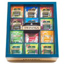 Twinings 12 Compartment Teal Pyramid Display Box (With Tea)