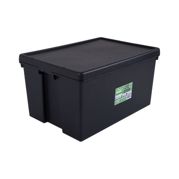Wham Bam Black Recycled Storage Box 96 Litre