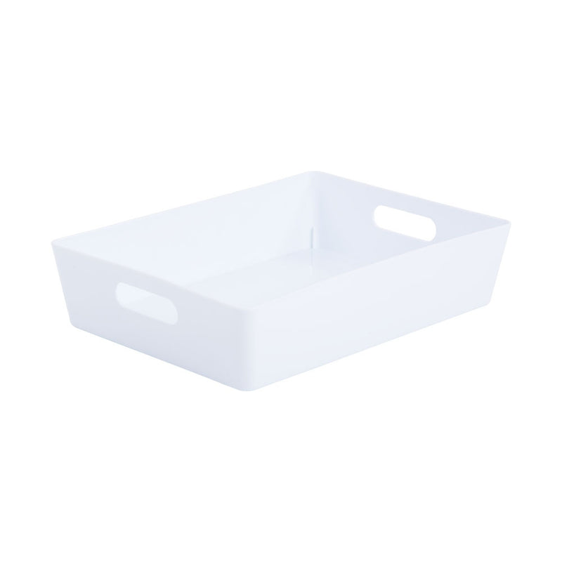 Wham White Rectangular Studio Basket 5.01 6 Litre
