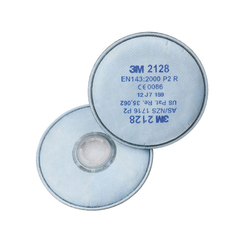 3M 2128 Particulate Filters (Pair)