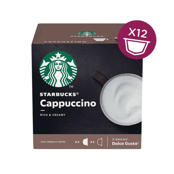 Nescafe Dolce Gusto Starbucks Cappuccino Capsule (Pack of 12) 12397695