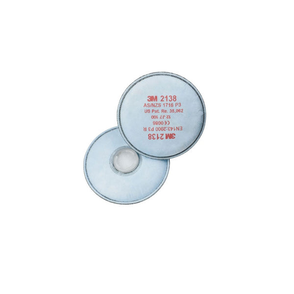 3M 2138 Particulate Filters (Pair)