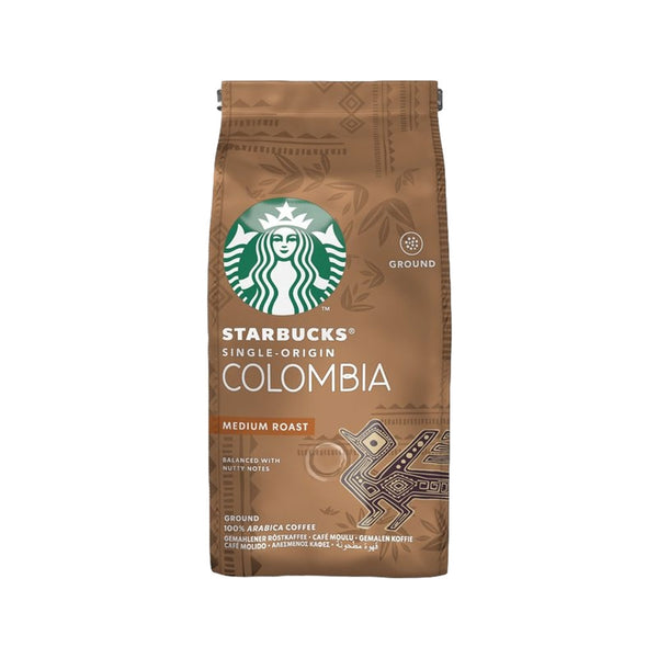 Starbucks Medium Colombia Ground Filter Coffee, 100% Arabica, 200g