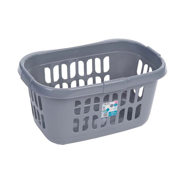 Wham Casa Hipster Silver Laundry Basket