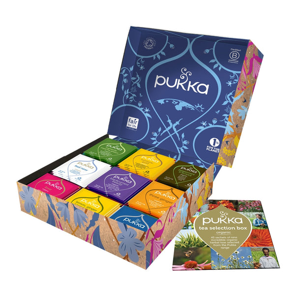 Pukka Tea Selection Box 45's