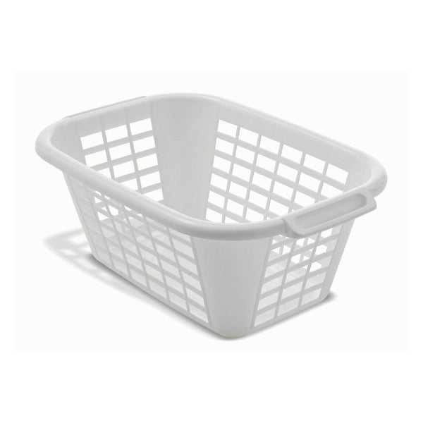 Addis White Laundry Basket 40 Litre
