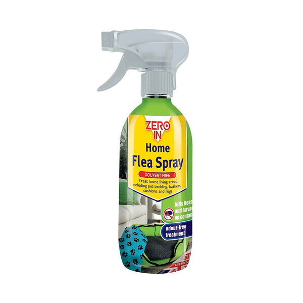 Zero In RTU Home Flea Spray 500ml