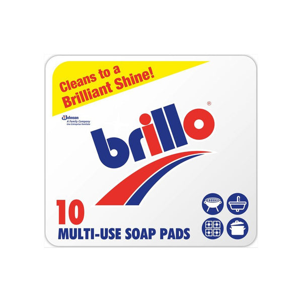 Brillo Soap Pads Pack 10's