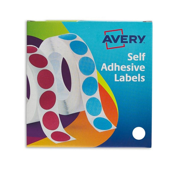 Avery 24-404 19mm White Labels Pack 1400's