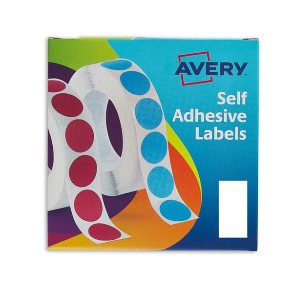 Avery 24-426 50mm White Labels Pack 400's