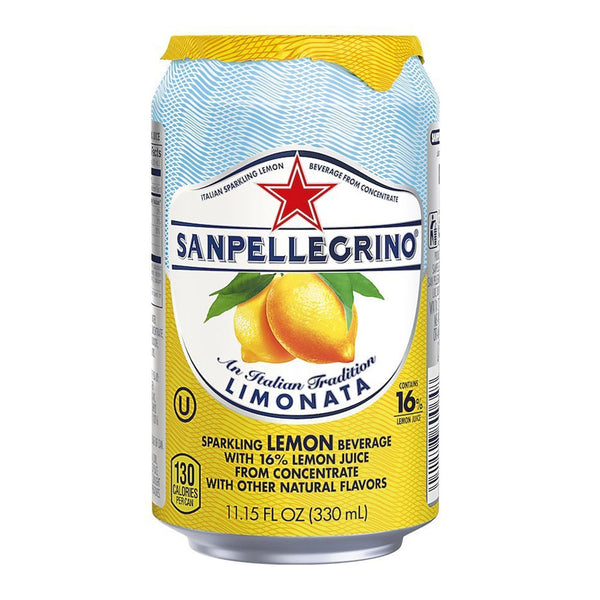 San Pellegrino Limonata (Lemon) Cans 24x330ml