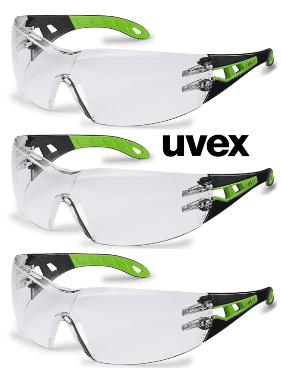 UVEX Pheos Safety Specs Scratch Resistant Coating CLEAR