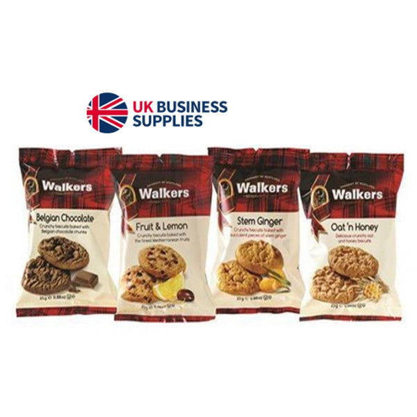 Walkers Assorted Biscuits Twin Packs - Pack of 100