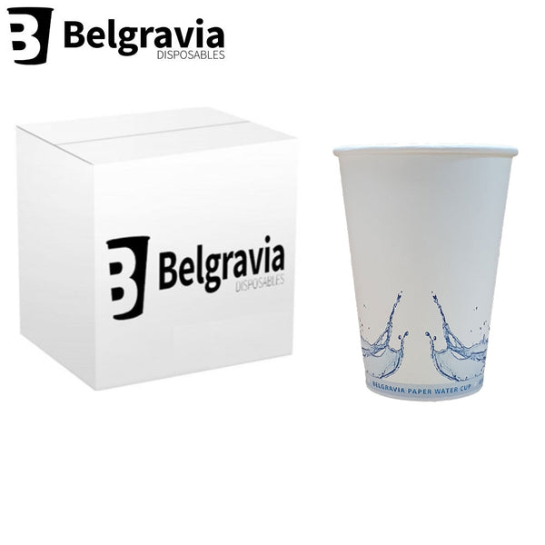 7oz Belgravia Paper Water Cup - Full Pack (1000's)