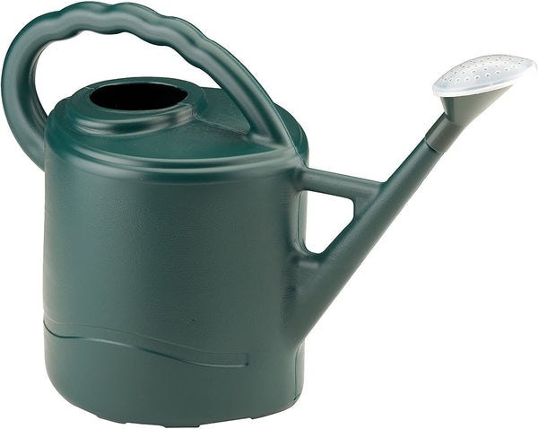 Green Watering Can With Rose 9 Litre