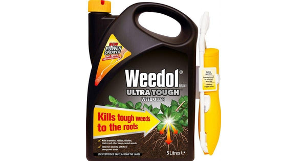 Weedol Ultra Tough 5 Litre & Pump