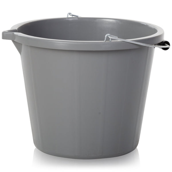 Wham Bam Grey Upcycled Bucket 15 Litre