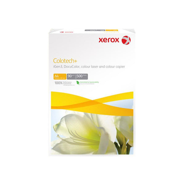 Xerox A4 100g White Colotech Paper 1 Ream (500 Sheets) Pack of 4
