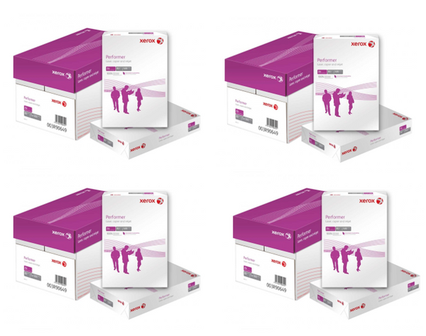 Xerox Performer Copier Paper A4 80gsm White 4 Box 20 Reams OFFER!